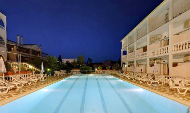 gouvia hotel swimming pool