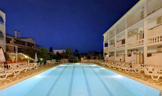 gouvia hotel swimming pool