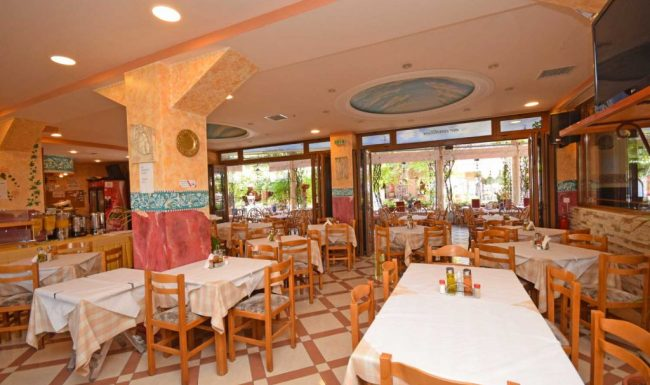 gouvia main restaurant 01 - breakfast area