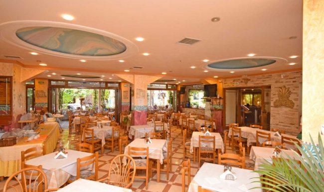 gouvia main restaurant 03 - breakfast area indoor