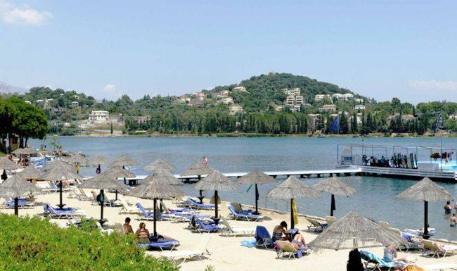 gouvia beach corfu 3